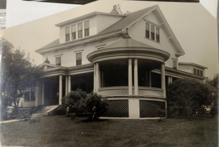 Florence Hall, the original site of Rivier College's library. c. 1950