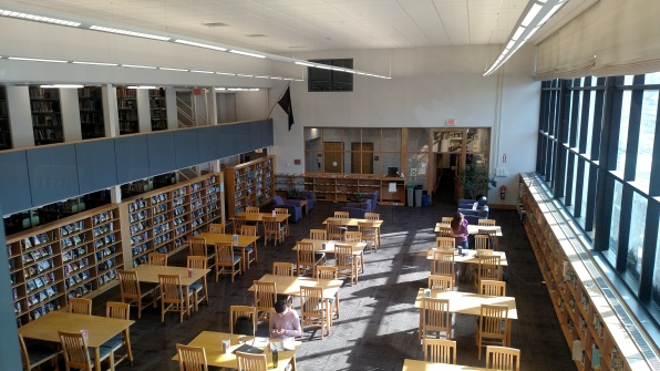 Regina Library's Reading Room, 2017
