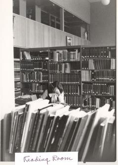 Regina Library's Reading Room, 1978