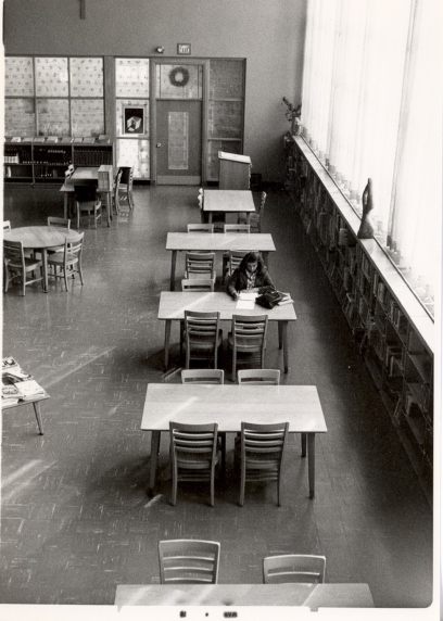 Regina Library's Reading Room, 1978