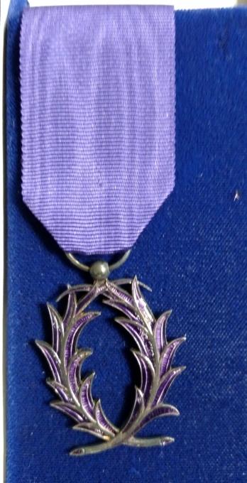 Palmes Academiques Award