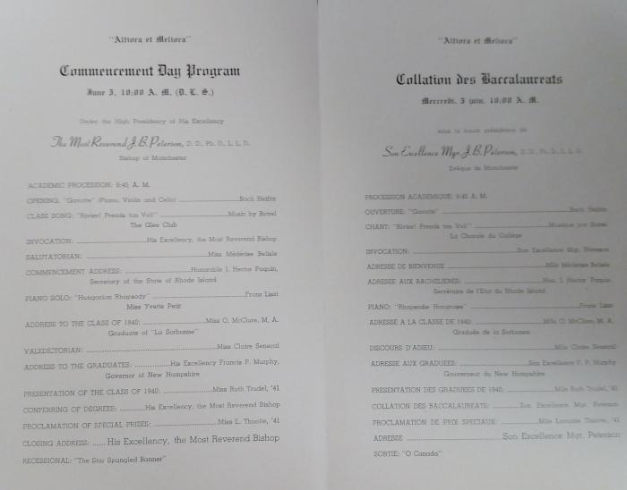 Commencement 1943