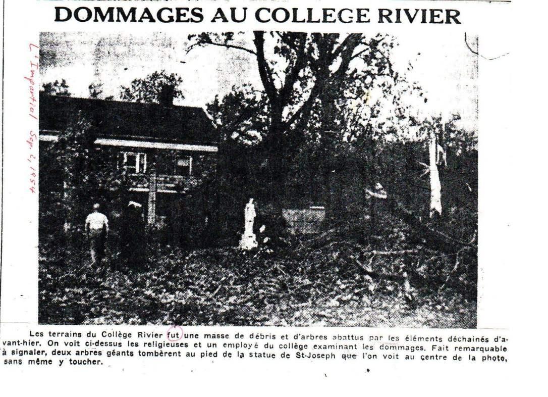 1954 hurricane St. Joseph